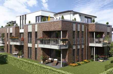 Neubau, Erstbezug: Moderne 2,5 Zimmer-Wohnung in Eversten mit Einbauküche und Balkon