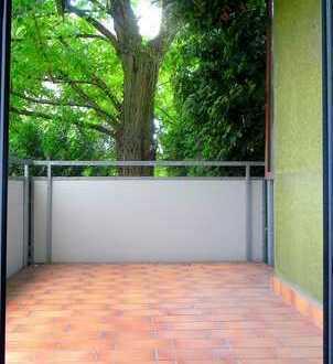 ENDLICH (M)EIN ZUHAUSE: 3-Zi.-Whg. Mit sonnigem Balkon + grüner Aussicht. Zentrale Lage in Fellbach.