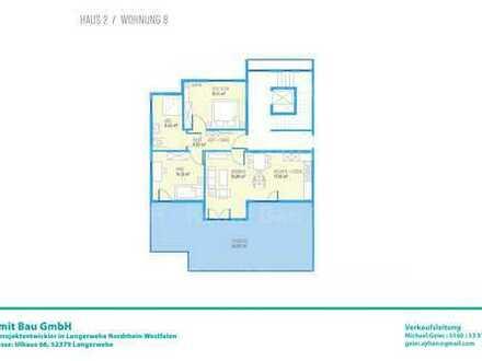 Drei Zimmer DG-Wohnung H2W8