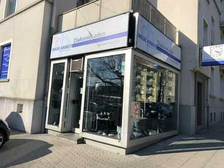 RASCH Industrie: Vermietung eines Eckladenlokals in Essen, direkt am Klinikum