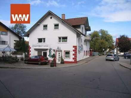 Allgäu - Betzigau - Leben - Wohnen - Arbeiten - großes Haus mit Werkstatt oder Studio