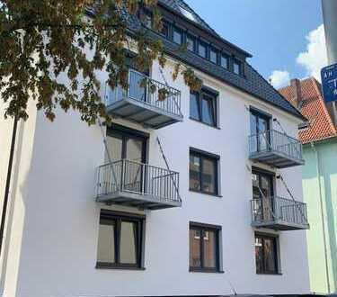 Erstbezug nach Sanierung: exklusive 2-Zimmer-Wohnung mit Einbauküche und Balkon in Münster