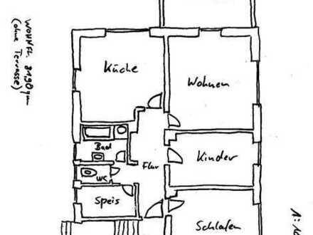 3 ZKB, Wohnung im Zweifamilienhaus