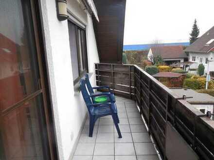 Geräumige 3 Zimmer DG Wohnung in Muggensturm