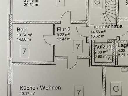 Erstbezug: geräumige 2-Zimmer-Wohnung in Bad Windsheim