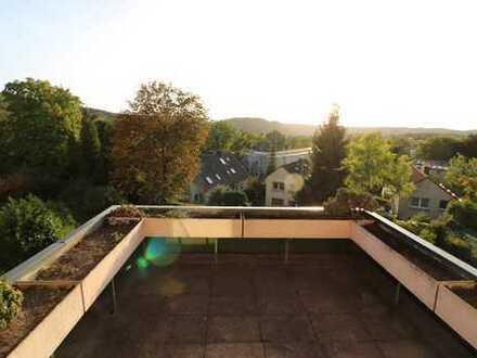Sonnenverwöhnte 3,5 Zi. Etagenwohnung mit Terrasse und Stellplatz in der Hattinger Südstadt