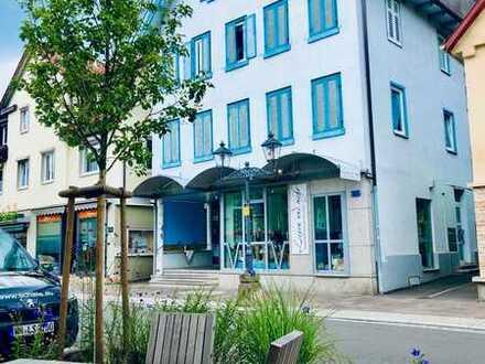 Renditeobjekt mit ca. 3,5% - Welzheim Wohn-+Geschäftshaus direkt im Stadtzentrum/Einkaufsstrasse