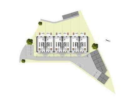 moderne Maisonette Wohnung mit Garten- (Aufteilung wie Reihenmittelhaus) - Nähe Bahnhof