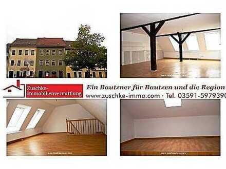 Bischofswerda – Erstbezug nach Sanierung – 4-Raum-Maisonette Wohnung im Herzen der Stadt – Mieten je