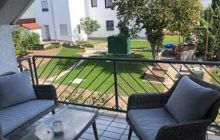 Schöne und gepflegte 3-Zimmer-Wohnung in Alsbach zu vermieten