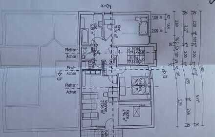 Exklusive, gepflegte 3-Zimmer-DG-Wohnung mit Balkon in Linkenheim