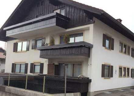 Freundliche 2-Zimmer-Wohnung mit Balkon in Sonthofen-Rieden - von privat