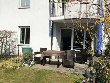 Attraktive Erdgeschosswohnung mit eigenem Garten am Südpark von Sendling