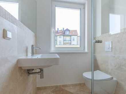 ALLES NEU - ERSTBEZUG! Top ausgestattete 4-Zimmer-Wohnung mit EBK, 2 Bäder, Fußbodenheizung, Parkett