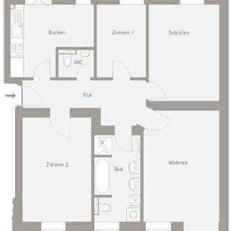 Grüne Lage an der Parthe | 4-Zimmer mit Gartenanteil und Stellplatz | KfW & Abschreibung