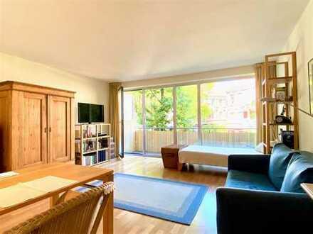 Vermietete, ruhig gelegene 1-Zimmer-Wohnung mit großem Balkon und Stellplatz in Hoheluft-Ost