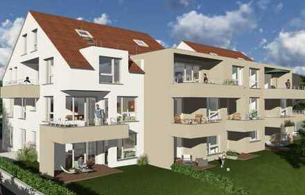 Moderne 4-Zimmerwohnung mit Balkon im OG zum Erstbezug, provisionsfrei