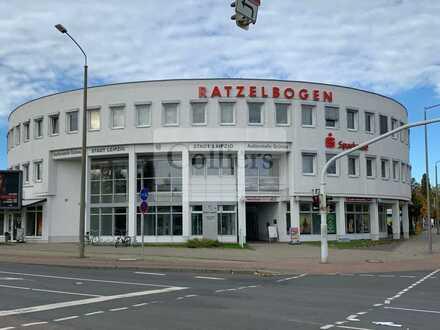    Attraktive Bürofläche   ca. 377 m²   Ratzelbogen   