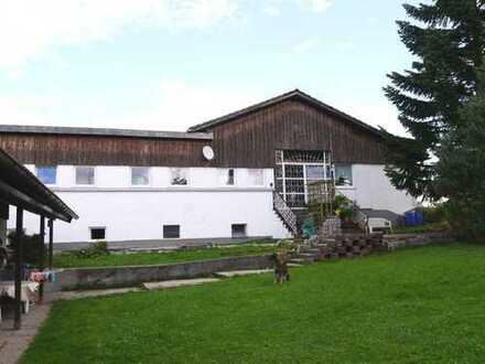 Bungalow und MFH mit großzügigen Lagerflächen auf einem Grundstück in Martinszell-Oberdorf