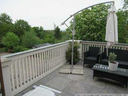 3-Zimmer-Wohnung mit großem Balkon in idyllischer Lage in Weistropp zu vermieten!