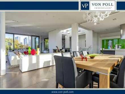 City-Penthouse mit einmaliger Ausstattung und fantastischem Skylineblick