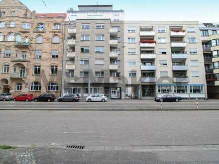 Anlageobjekt in Mannheims Mitte: Vermietetes 1-Zi.-Apartment in gepflegtem Zustand