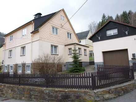 Doppelhaushälfte in ruhiger Lage von Olbernhau OT Rothenthal