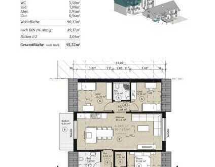 Neubauwohnung Dachgeschoss