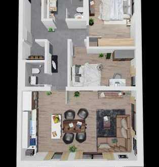 3 Zmmer Wohnung im Zentrum Deggendorfs