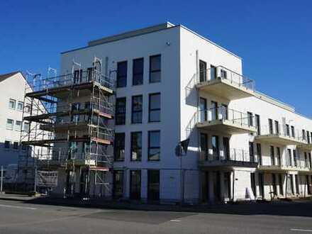 NEUBAU-Erstbezug: 4-Zimmer-Wohnung mit 2 Bädern und Südbalkon - zentral in Leverkusen-Bürrig!