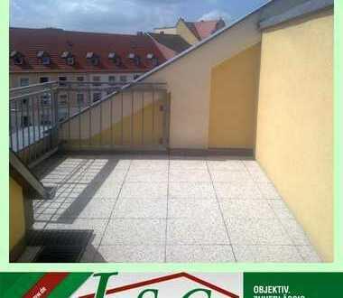 AB 01.03.2020 - Exklusive 1-Raum Wohnung - Aufzug - eigene Dachterrasse - EBK