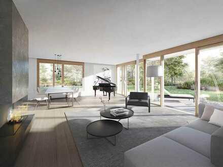 PRIVATHEIT IST EXKLUSIVITÄT - 4-Zimmer Gartenwohnung mit großer Terrasse in exzellenter Wohnlage