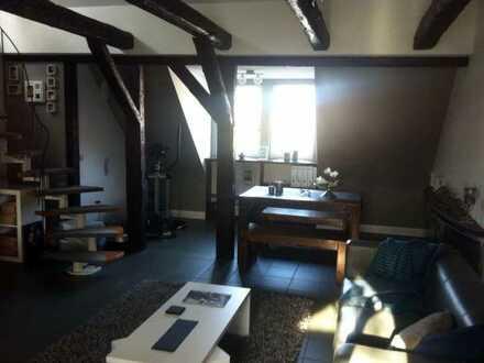 DG-Maisonette-Wohnung in historischem Fachwerkhaus
