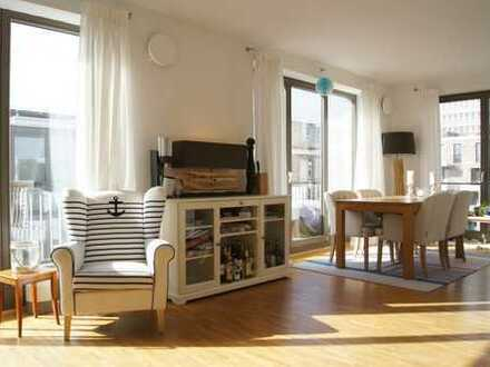 Exklusiv Wohnen im Quartier Amalie - 3 ZKB mit Parkett und Balkon