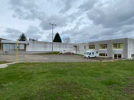 ++ Lagerhalle mit ca. 1.670 m² Nfl. und großer Freifläche zu vermieten! ++