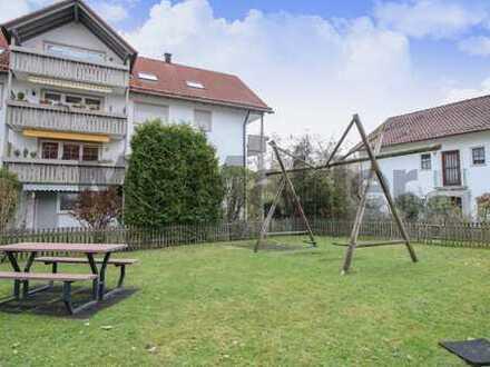 Vermietete Kapitalanlage zwischen Kempten und dem Ammersee: 2-Zi.-ETW mit Balkon in Kaufbeuren