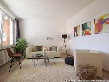 - sanierte Wohnung mit Einbauküche -