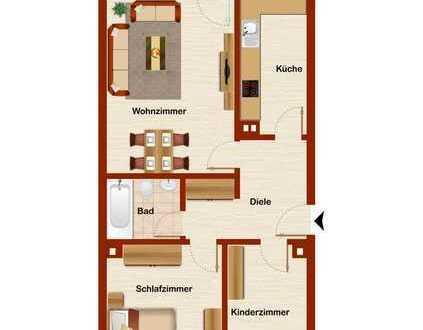 ++ 3 Zimmer Wohnung in Bilderstöckchen mit Balkon ++