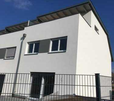 tolles Reihenmittelhaus Neubau - mit Dachterrasse, Tiefgaragenstellplatz und eigenem Garten