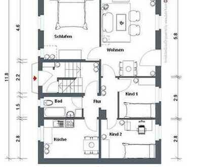 schöne helle 4-Raum-Wohnung