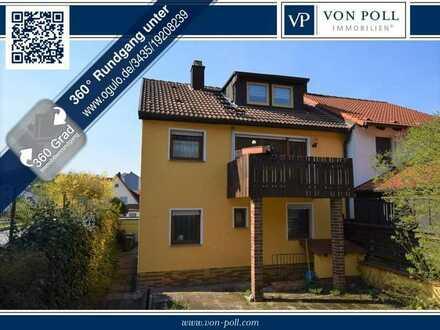!!! Virtueller 360° Rundgang möglich !!!Doppelhaushälfte mit schönem Garten und Garage in Ansbach