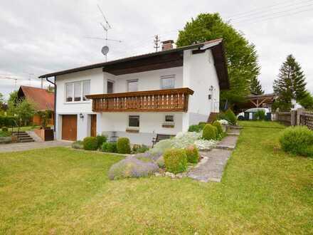Einfamilienhaus mit traumhaftem Garten nähe Ammersee!