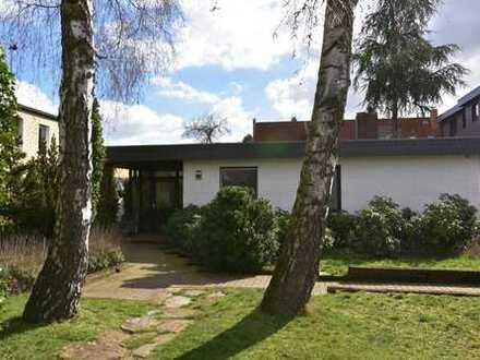 RUDNICK bietet BARRIEREARMEN BUNGALOW in der Wunstorfer Kernstadt