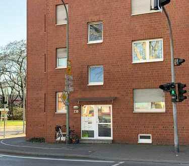 Günstige, gepflegte 2,5-Zimmer-Wohnung mit Balkon und EBK in Bottrop