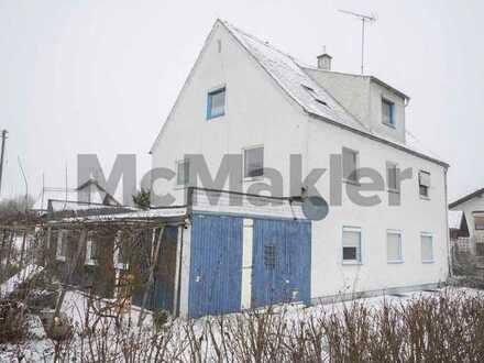 Günstige Gelegenheit: Gut geschnittene 3-Zimmer-Wohnung mit viel Potenzial nahe Augsburg