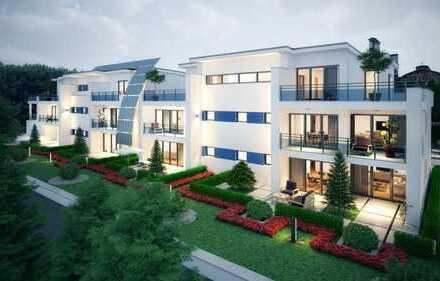 Moers - Kapellen: Neubau - Wohnung im I. Obergeschoss mit Balkon und Aufzug