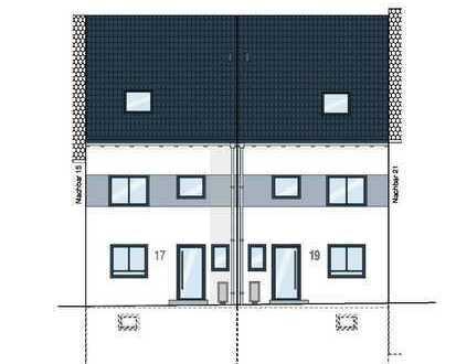 modernes architektonisches Design - Reihenmittelhaus mit Garage in 69242 Mühlhausen