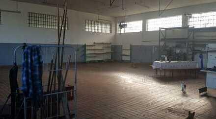 Lagerhalle / Werkstatt / Produktion mit *Freifläche* und Büroraum in Ochsenhausen