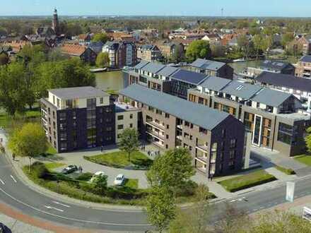 Leer: Neubau-Obergeschoss-Eigentumswohnung in Top Lage, Nähe Altstadt und Hafen, www.deWeerdt.de