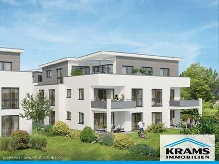 3-Zimmer-Neubauwohnung mit Terrasse und eigenem Garten!